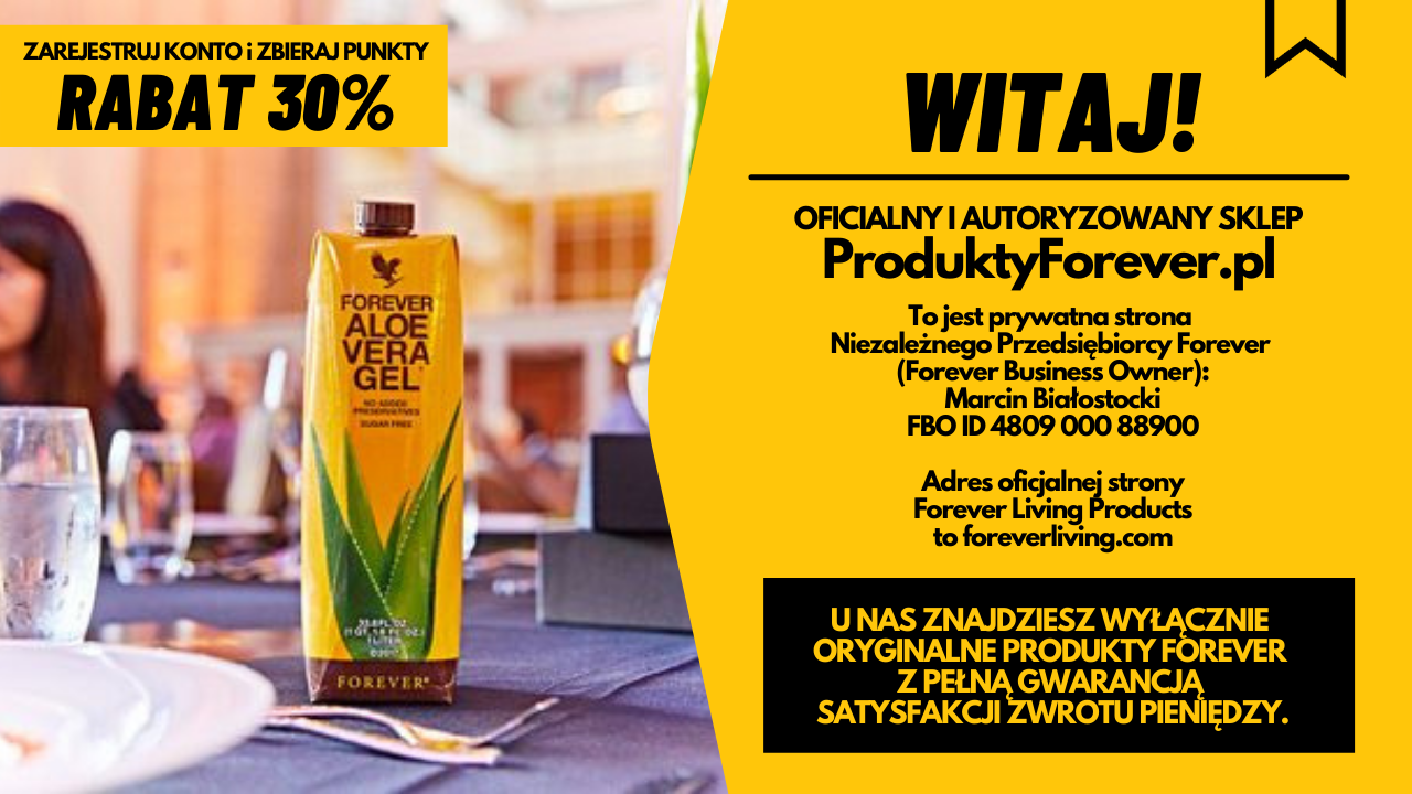 Produkty Forever Living Products